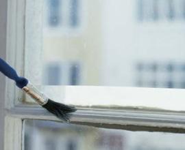 Peindre les fenêtres