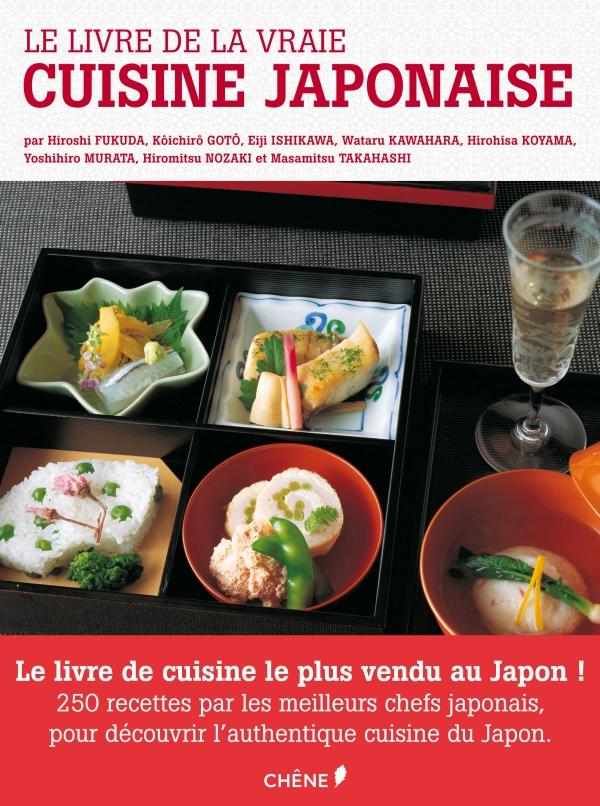 Le livre de la vraie cuisine japonaise  9782812304132-T