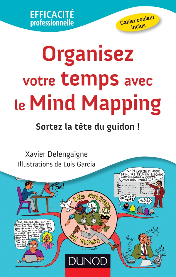 Livre Organisez votre temps avec le mind mapping
