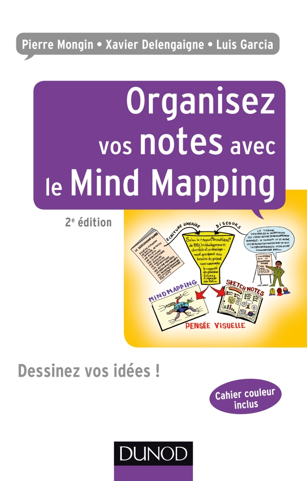 Livre Organisez vos notes avec le mind mapping