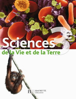 Sciences de la Vie et de la Terre (Hervé) 3e - Livre élève - Edition 2008 - cliquer pour zoomer