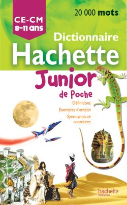 DICTIONNAIRE HACHETTE JUNIOR POCHE
