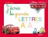 Cars Ardoise j'écris les lettres majuscules (3-6 ans)