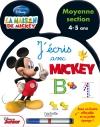 J'écris avec Mickey - MS - Ardoise