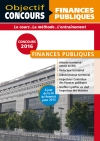 Objectif Concours Finances Publiques Catégorie A et B 2015/2016