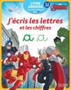 Livre Ardoise Avengers - j'écris les Lettres et les Chiffres