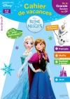 Cahier de vacances la Reine des Neiges de la GS au CP