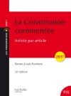 Les Fondamentaux - La Constitution commentée 2017/2018
