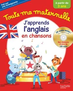 Toute Ma Maternelle J'apprends l'anglais + CD audio dès 3 ans