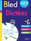 Cahier Bled - Dictées CE2