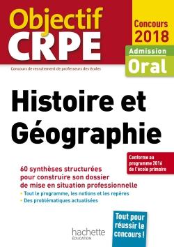 CRPE en fiches : Histoire Géographie 2018