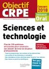 CRPE en fiches : Sciences et technologie 2018