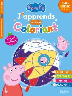 Peppa Pig J'apprends tout en coloriant PS