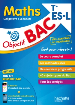 Objectif Bac - Maths Term ES/L