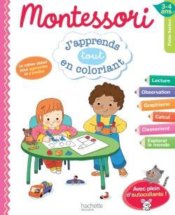 Montessori J'apprends tout en coloriant PS