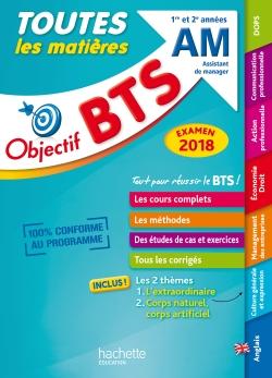 Objectif BTS le tout-en-un BTS AM examen 2018