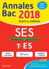Annales Bac 2018 SES Term ES