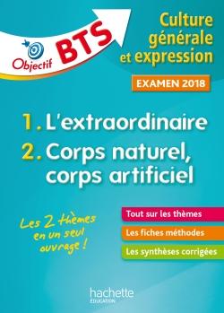 Objectif BTS Culture générale et expression, examen 2018