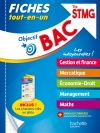 Objectif Bac Fiches Tout-en-un Term STMG, spécialités gestion-finance-mercatique