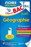 Objectif Bac Fiches Détachables Géographie Term L/Es