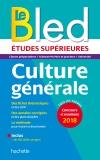 Bled Etudes Supérieures Culture Générale, examen et concours 2018