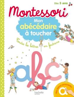 Montessori - Mon abécédaire à toucher