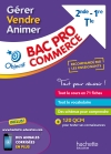 Fiches Bac Pro Commerce : Gérer, Vendre , Animer