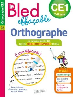 Le BLED effaçable Orthographe CE1