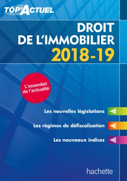Top'Actuel Droit De L'Immobilier 2018-2019