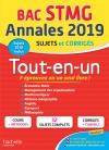 Annales Bac 2019 Tout-en-un Tle STMG