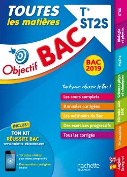 Objectif Bac 2019 Toutes les matières Tle ST2S