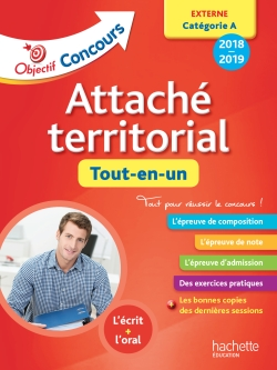 Objectif Concours 2018 Attaché territorial (concours externe)