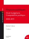 Les Fondamentaux Finances publiques 2018-2019, droit budgétaire et comptabilité publique