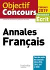 Objectif CRPE  Annales Français 2019