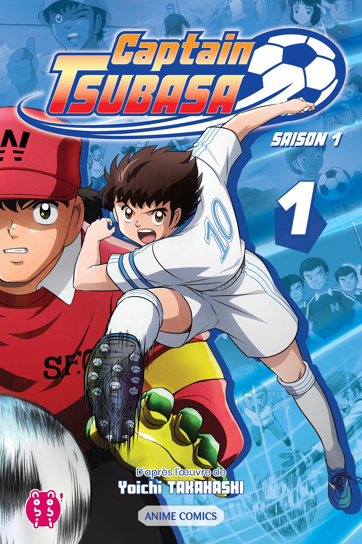 Couverture Captain Tsubasa - Saison 1 tome 1