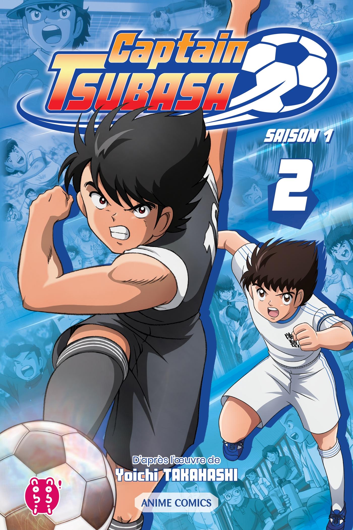 Couverture Captain Tsubasa - Saison 1 tome 2