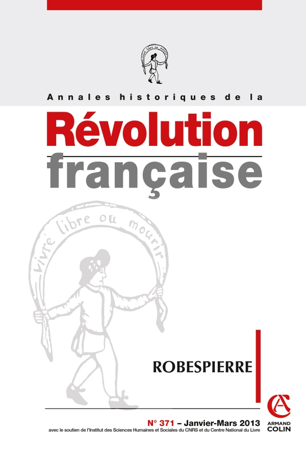 Annales historiques de la Révolution française nº 371 (1/2013)