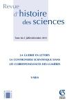 Revue d'histoire des sciences - Tome 66 (2/2013)