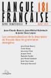 Langue Française Nº181 (1/2014)