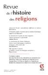 Revue de l'histoire des religions - Tome 231 (1/2014)