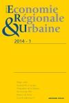 Revue d'économie régionale et urbaine (1/2014)