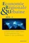 Revue d'économie régionale et urbaine (2/2014)