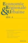 Revue d'économie régionale & urbaine (4/2014)