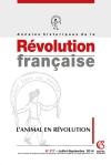 Annales historiques de la révolution française Nº377 (3/2014)