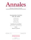 Annales. Histoire, Sciences sociales - Vol. 69 (2/2014)