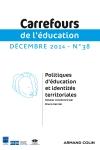 Carrefours de l'éducation nº 38 (2/2014)