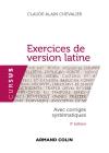 Exercices de version latine - 3e édition - NP - Avec corrigés systématiques