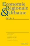 Revue d'économie régionale & urbaine (3/2014)