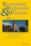 Revue d'économie régionale & urbaine (5/2014)
