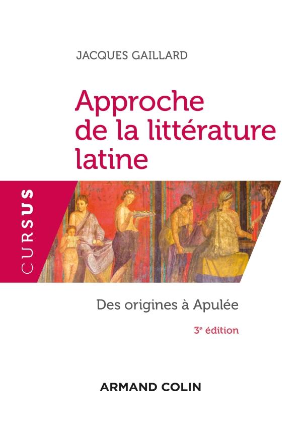Introduction à la littérature latine - 3e éd.